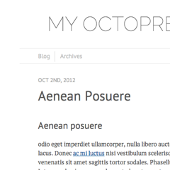 Octopress Angry Abalone Theme