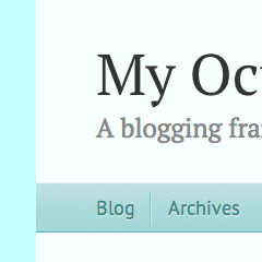 Octopress Cyan Theme